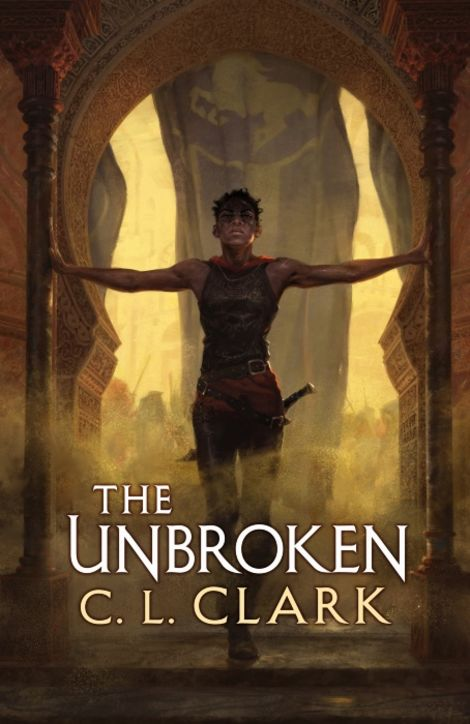 Book cover for The Unbroken