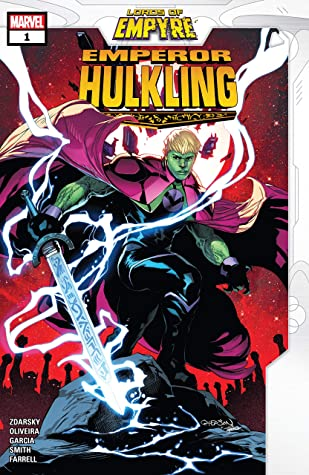 Lords of Empyre: Emperor Hulkling #1