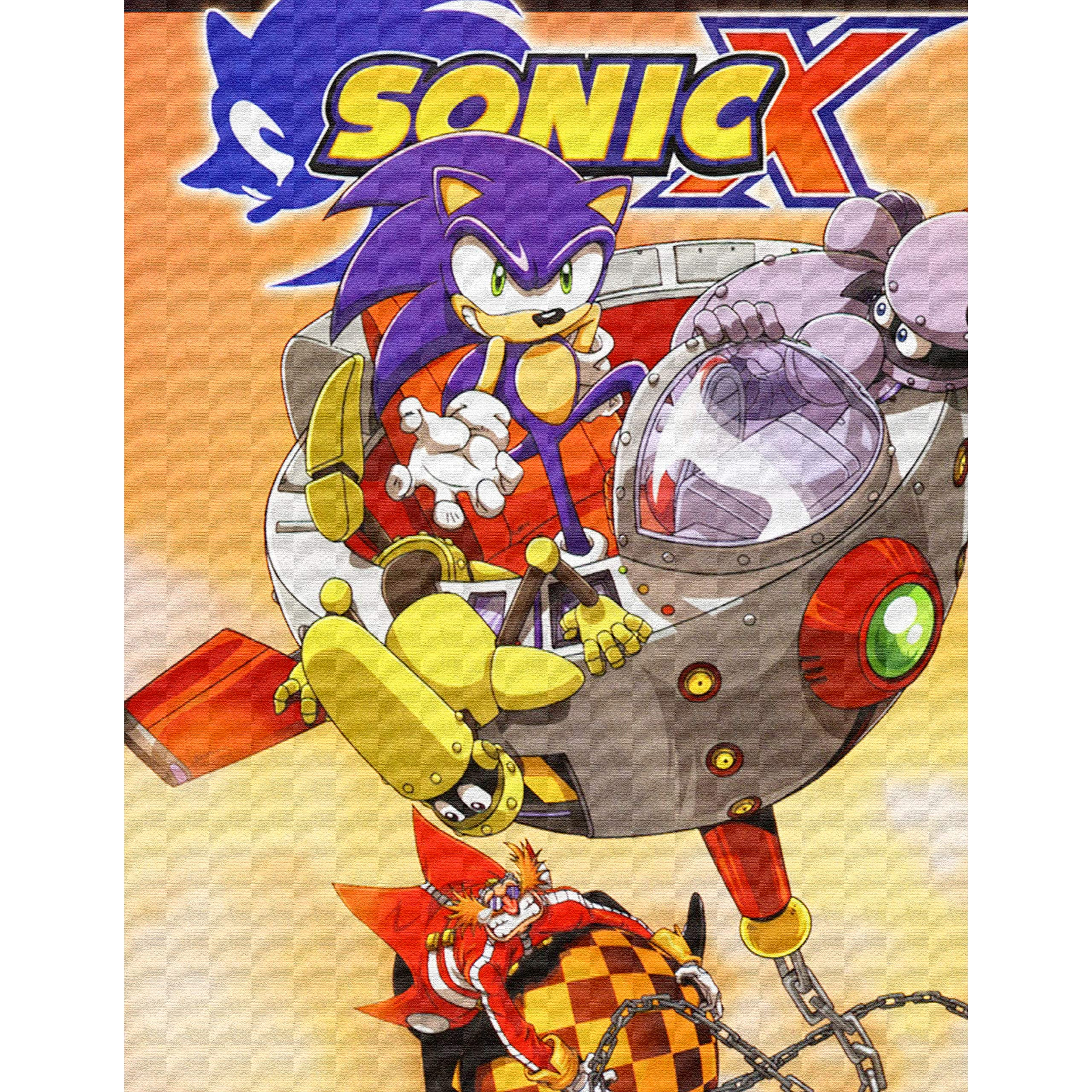 Sonic The Hedgehog Sonic X Comic Book Collection Full Set By Abbie Hayes
