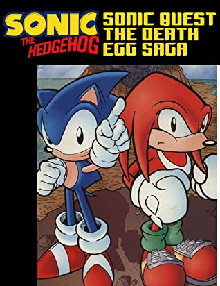 Sonic The Hedgehog Sonic Quest The Death Egg Saga Collection By Abbie Hayes