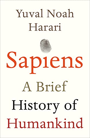 Cover for Sapiens: A Brief History of Humankind, by Yuval Noah Harari