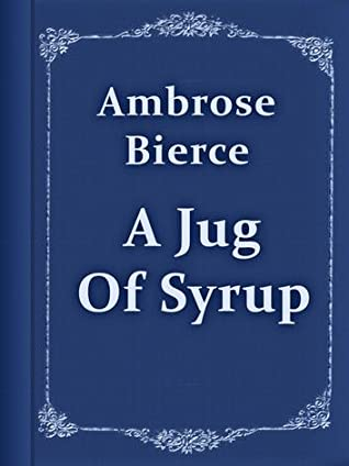 Jug of syrup