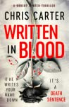 Written in Blood (Robert Hunter, #11) audiobook review