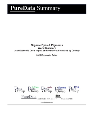 Organic Dyes & Pigments World Summary: 2020 Economic Crisis Impact on Revenues & Financials by Country