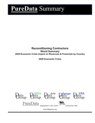 Reconditioning Contractors World Summary: 2020 Economic Crisis Impact on Revenues & Financials by Country