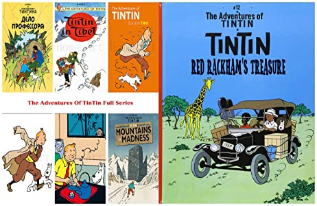 The Adventures Of TinTin Full Series : Issue 12-RED RACKHAM'S TREASURE