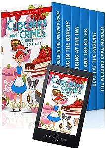 Cupcakes and Crimes 6 Book Box Set (Bakers and Bulldogs Mysteries Box Set 2)