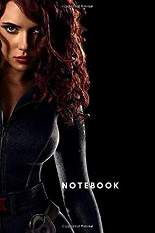 Black Widow Marvel Comics, Superhero Notebook, Journal, Diary: beautiful black widow notebook, great gift for people who love Marvel comics, ideal for writing ideas