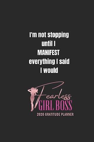 Fearless Girl Boss 2020 Gratitude Planner