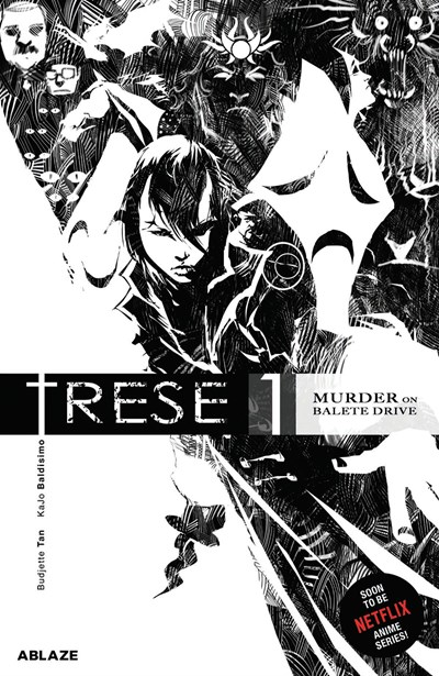 Jacket cover for Trese Vol. 1 by Budjette Tan