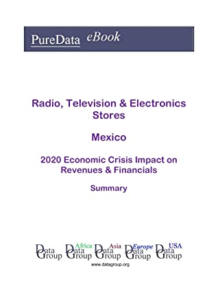 Radio, Television & Electronics Stores Mexico Summary: 2020 Economic Crisis Impact on Revenues & Financials
