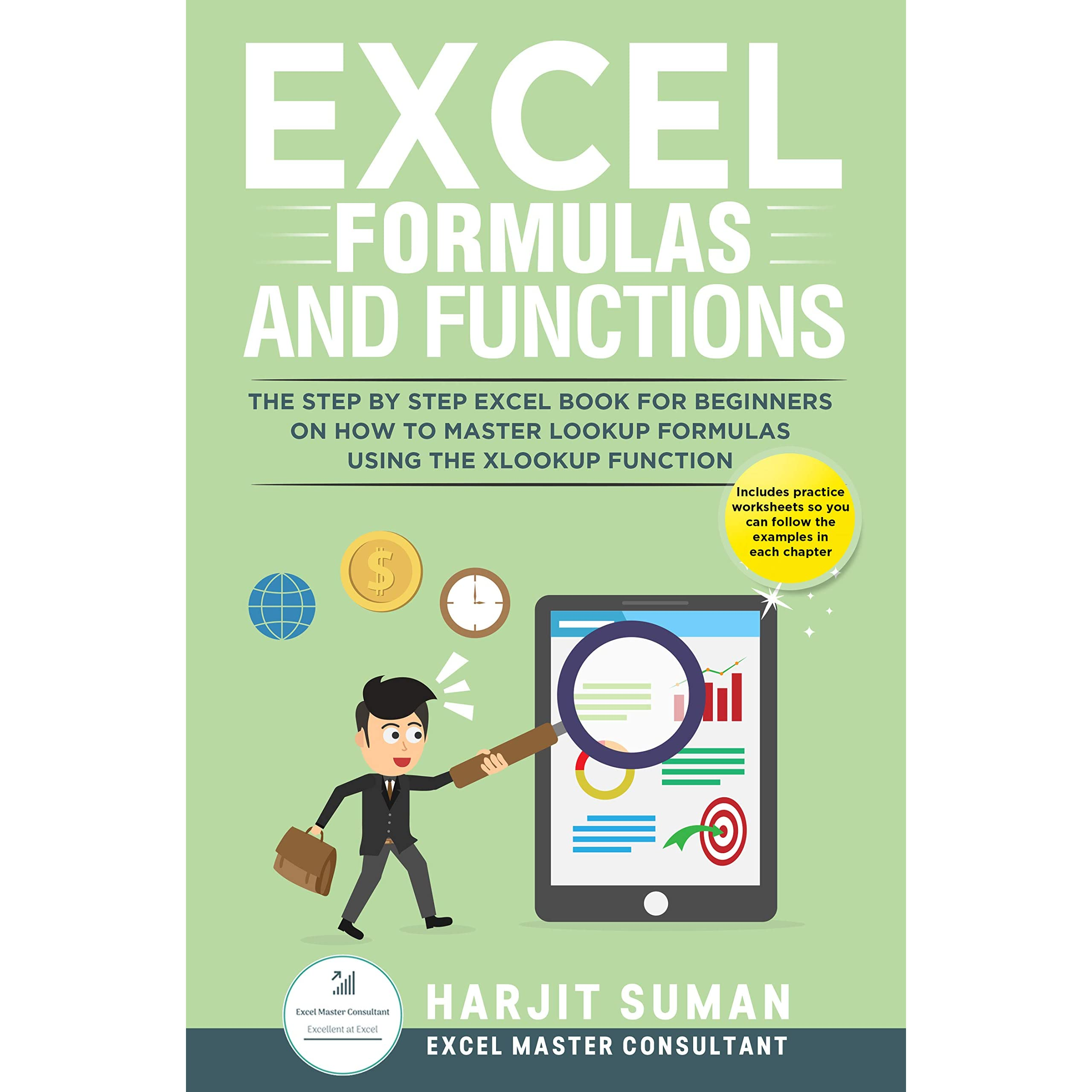 Excel Formulas and Functions The Step by Step Excel Book for ...