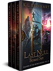 Last Null Boxed Set: Dagger of the World Books 7 - 9 (Dagger of the World Omnibus Book 3)