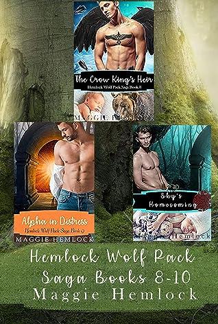 Hemlock Wolf Pack Saga Volume 3: Books 8-10