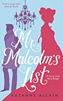 Mr Malcolm's List: a bright and witty Regency romp, perfect for fans of Bridgerton