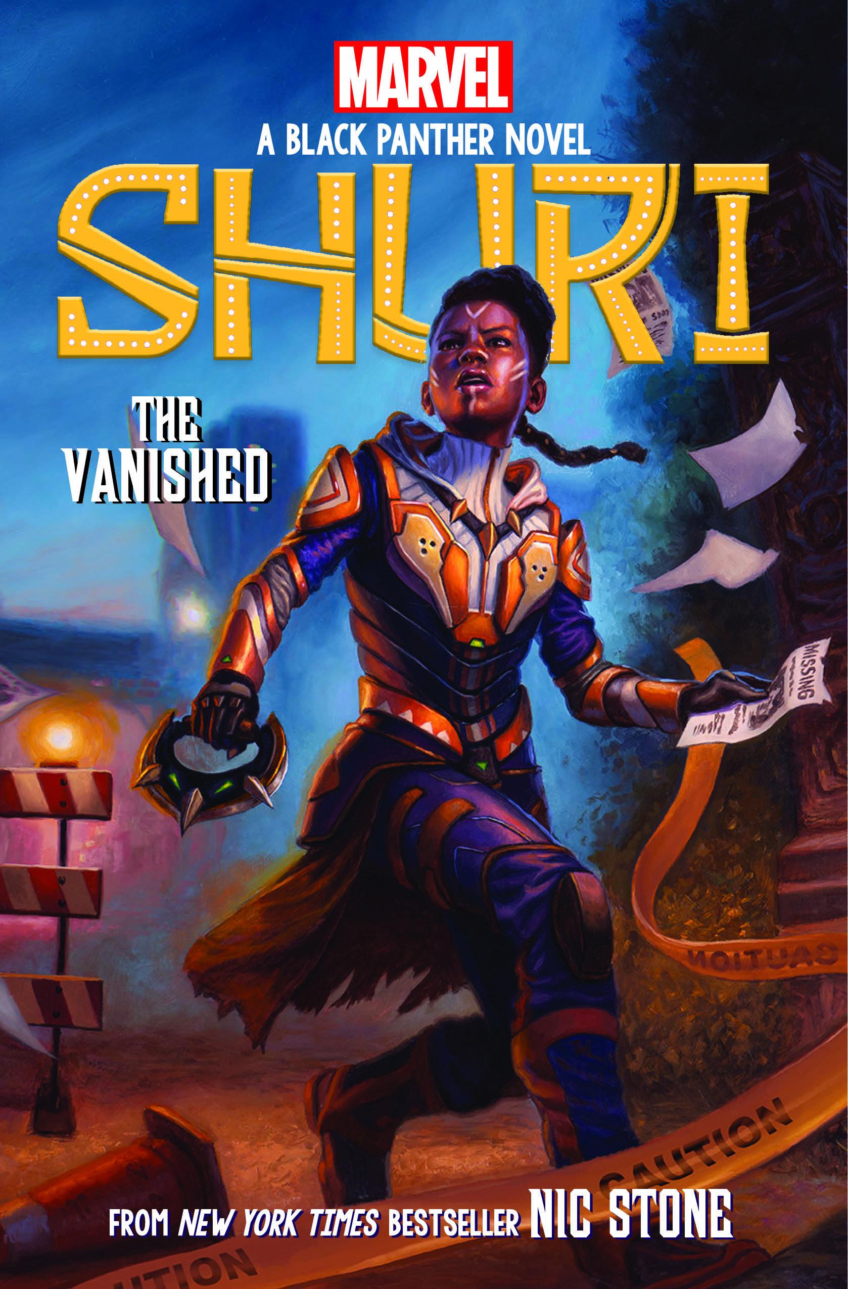 The Vanished (Shuri: Black Panther Novel #2)