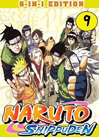 Shippuden: Collection 6-in-1 Edition Book 9 - Ninja Shonen Great Action Graphic Novel Naruto Manga (Scots Gaelic Edition)