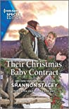 Their Christmas Baby Contract (Blackberry Bay #2)