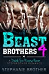 Beast Brothers 4: A Double Twin Reverse Harem Stepbrother Romance