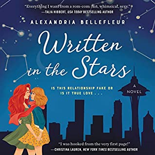 Audiobook cover for Written in the Stars