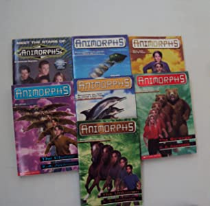 Animorphs Book Set (7) : #1, #4, #6 -7, #13 - 14 : Meet the Stars of Animorphs - The Stranger - The Message - The Invasion - The Unknown - The Change - The Capture (An Unofficial Box Set)
