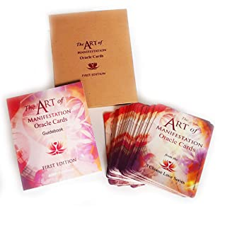 The Art of Manifestation Oracle Cards with Guidebook and Cards, First Limited Edition, Guidance and Direction for the Spiritual Warrior