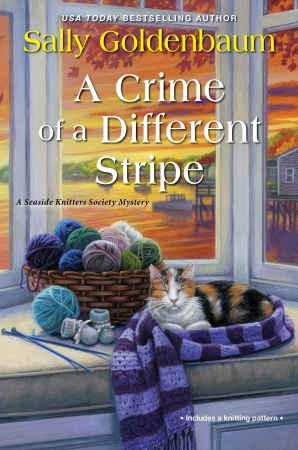 A Crime of a Different Stripe (Seaside Knitters Society Book 4)