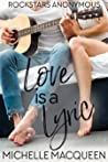 Love is a Lyric (Rockstars Anonymous, #1)