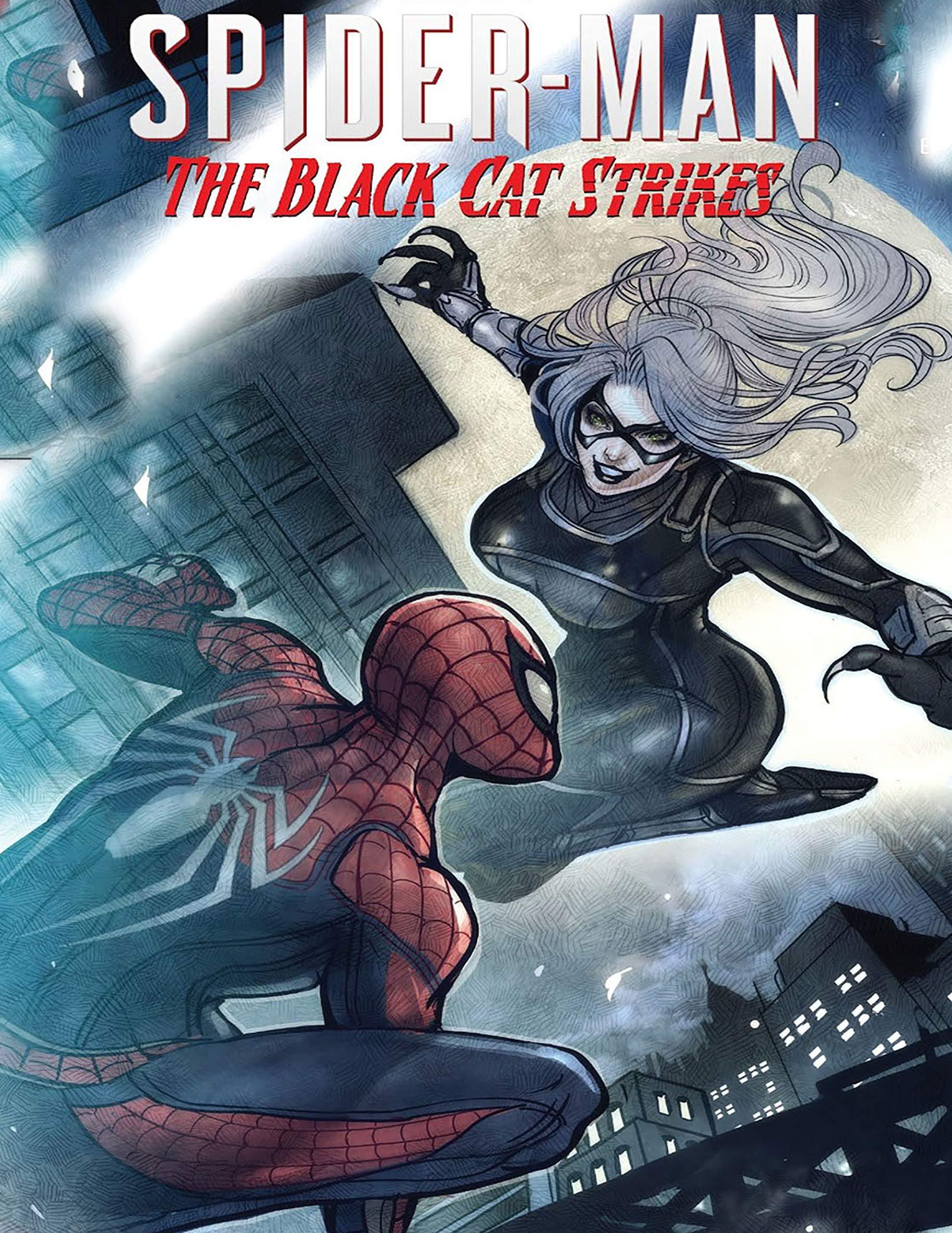 Comic Book: Marvel's Spider Man The Black Cat Strikes Julie Gonyou