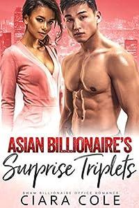 Asian Billionaire's Surprise Triplets: A BWAM Billionaire Office Romance
