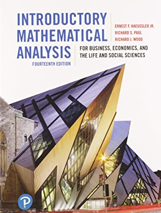 Introductory Mathematical Analysis for Business, Economics, and the Life and Social Sciences, Fourteenth Edition Plus MyLab Math with Pearson eText -- Access Card Package