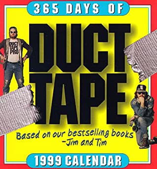 Cal 99 365 Days of Duct Tape Calendar