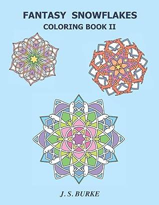 Fantasy Snowflakes Coloring Book II