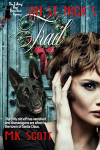 On St. Nick's Trail (The Talking Dog Detective Agency Series Book 6)