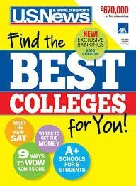 US News and World Report Find the Best Colleges 2016