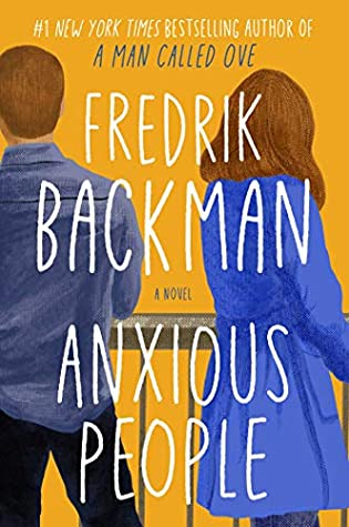 The book cover for Anxious People