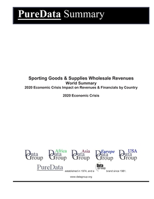 Sporting Goods & Supplies Wholesale Revenues World Summary: 2020 Economic Crisis Impact on Revenues & Financials by Country
