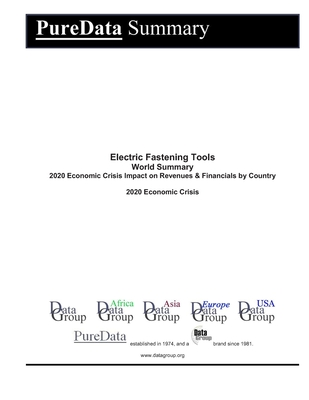 Electric Fastening Tools World Summary: 2020 Economic Crisis Impact on Revenues & Financials by Country
