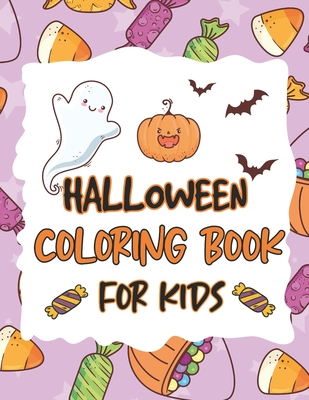 Halloween Coloring Book For Kids 50 Happy Halloween Beautiful Coloring Page By Thomas Peng