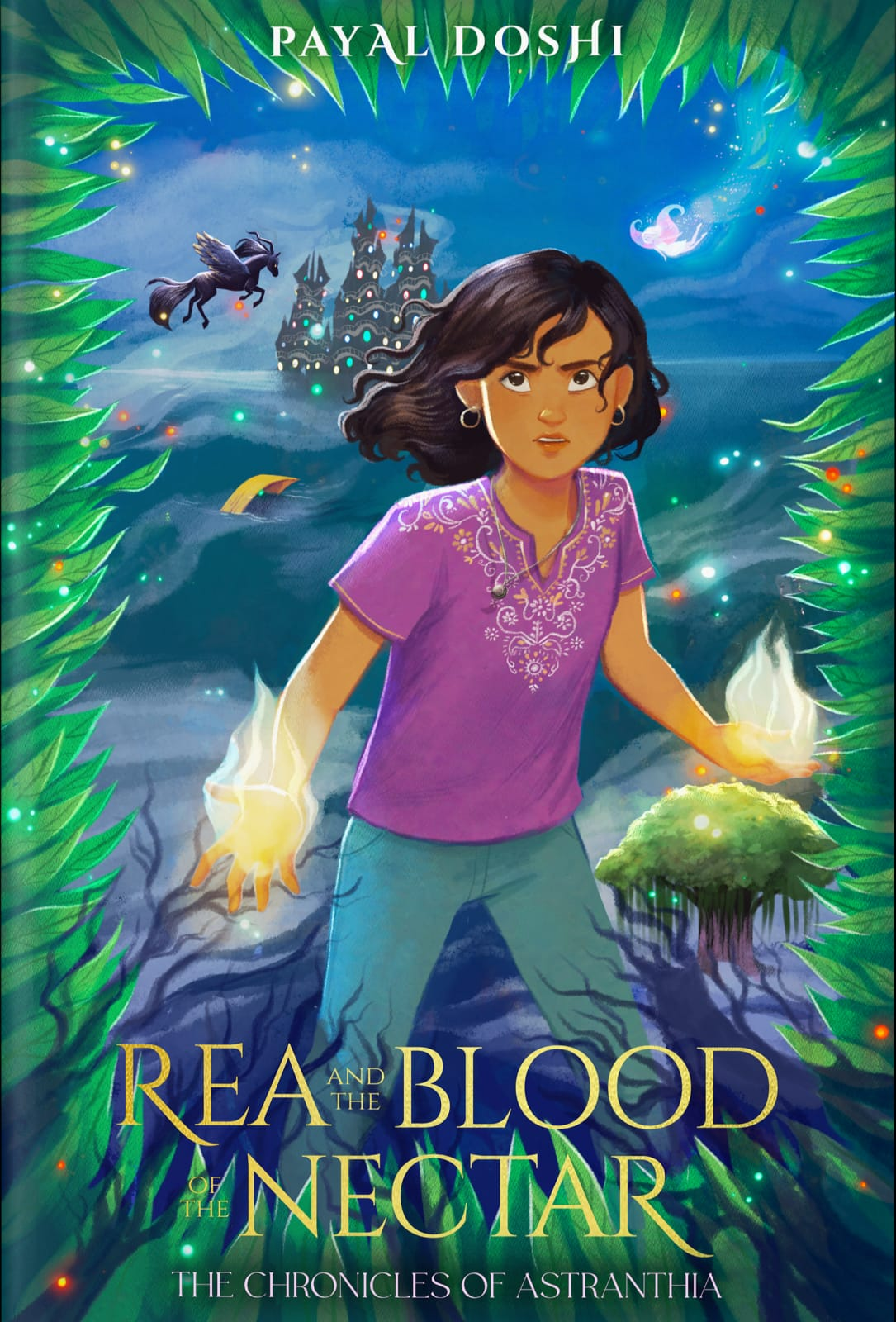 Rea and the Blood of the Nectar (The Chronicles of Astranthia, #1)