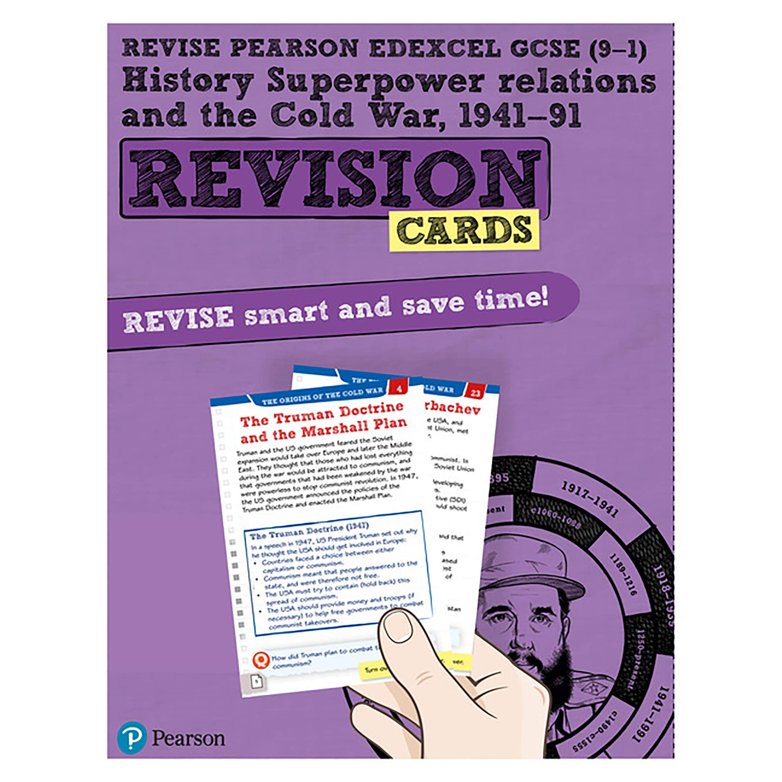 Revise Edexcel Gcse 9 1 History Superpower Relations And The Cold War Revision Cards By Brian Dowse