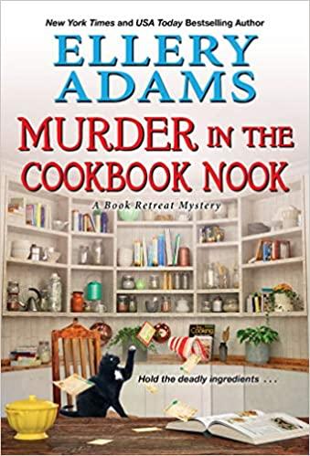 Murder in the Cookbook Nook (Book Retreat Mysteries, #7)