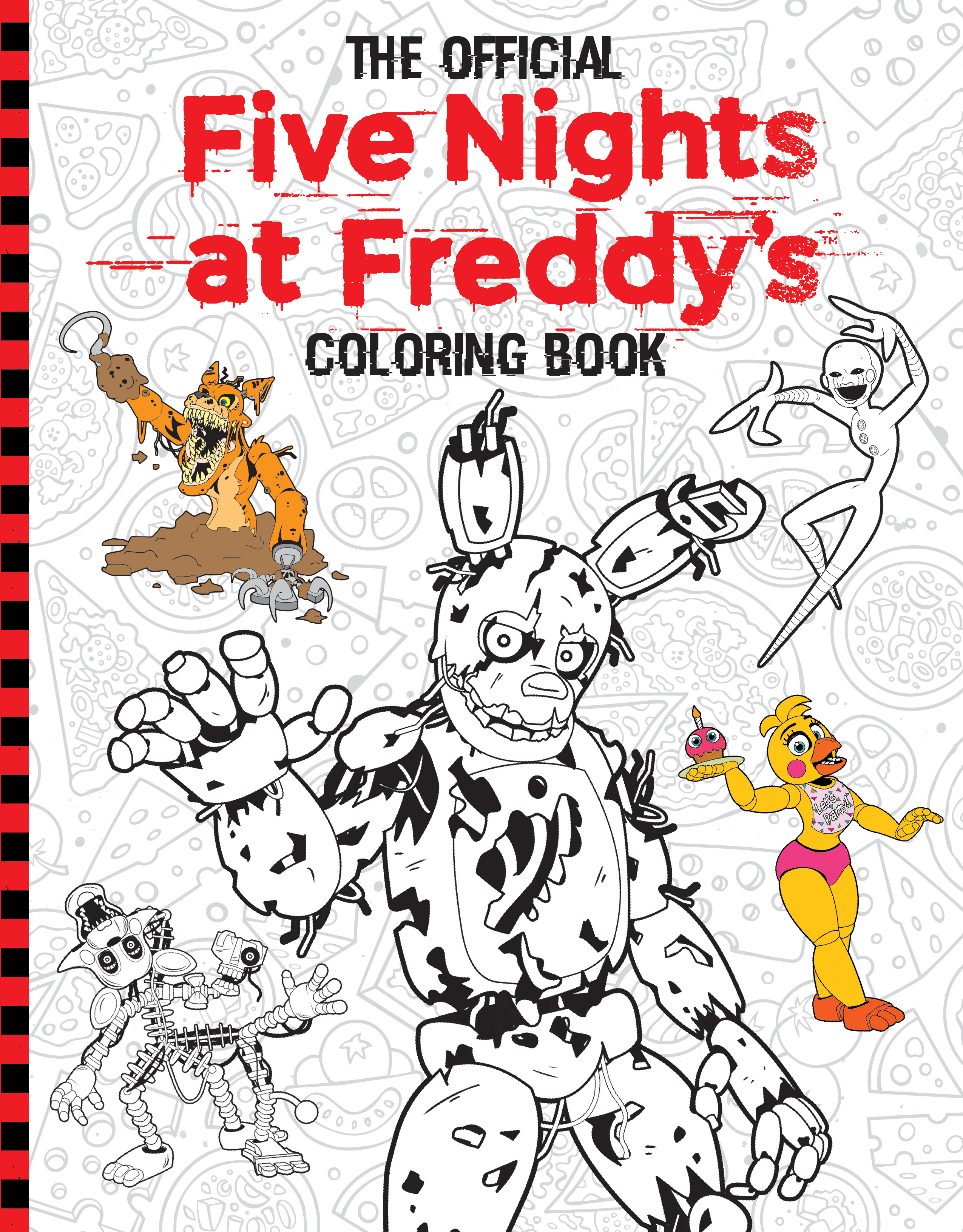 Official Five Nights at Freddy's Coloring Book by Scholastic