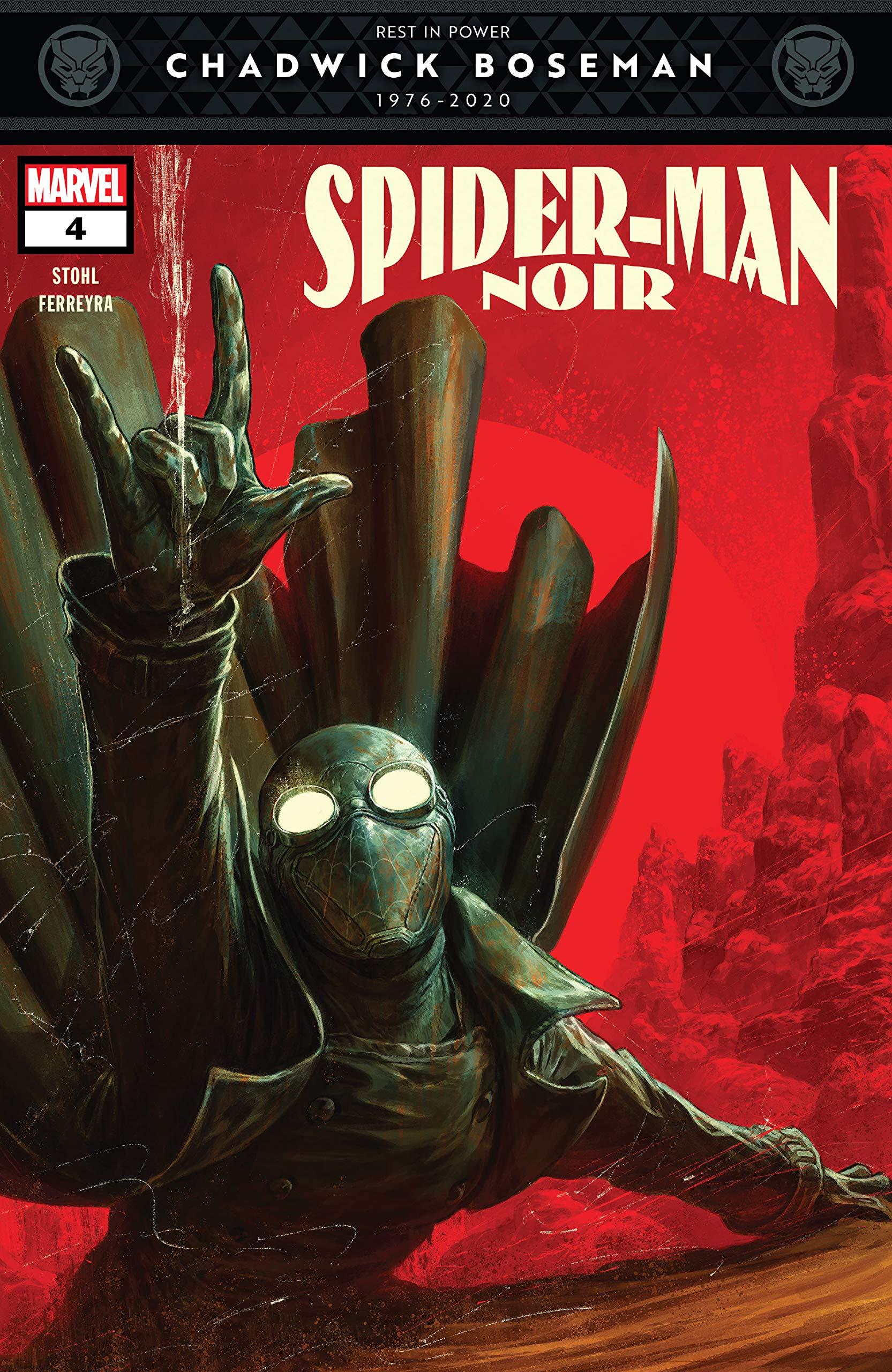 Spider-Man Noir (2020) #4 (of 5) Margaret Stohl, Dave Rapoza, Juan E. Ferreyra