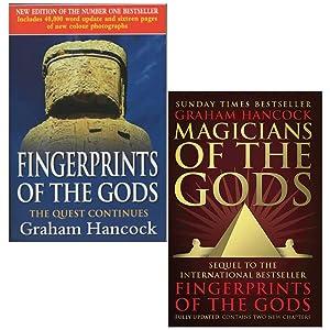 Fingerprints Of The Gods & Magicians of the Gods By Graham Hancock 2 Books Collection Set
