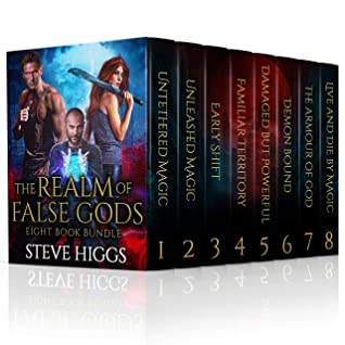 The Realm of False Gods 8 Book Bundle: An Urban Fantasy Saga