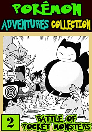 Battle Of Pocket Monster: Collection 2 - Pokemon Collection Adventures Manga Graphic Novel For Boys, Girls, Kids