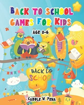 Back to school games For Kids AGE 3-6: Meet my Back to school games set! The games will help create cheerful atmosphere for children going to school.