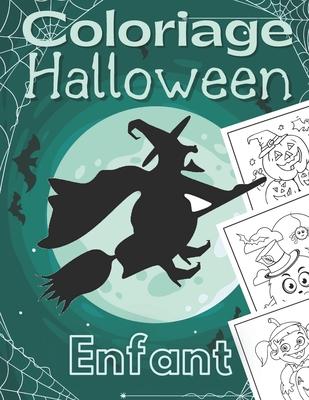 Coloriage Halloween Enfant Joyeux Halloween Livre De Coloriage D Halloween Pour Enfants Plus De 50 Dessins