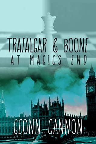 Trafalgar & Boone at Magic's End by Geonn Cannon